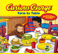 Curious George Farm To Table (Hardcover)