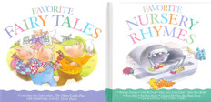 Favorite Fairy Tales & Nursery Rhymes Set of 2 (Hardcover)