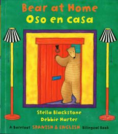Z/CASE OF 120-Bear at Home / Oso en casa (Paperback)