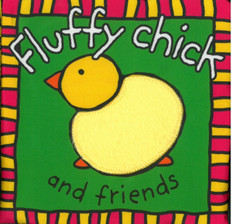 Z/CASE OF 24-Fluffy Chick and Friends (Cloth Book)