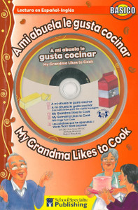 My Grandma Likes To Cook/A mi abuela le gusta cocinar (Paperback w/CD