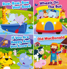 Super Core BBB Nursery Rhyme Bundle 2-4 Years - 40 Books (Board Book)