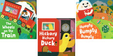 Mixed Up Nursery Rhymes Set of 3 (Board Book)