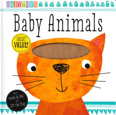 Baby Animals: Babytown Lift-a-Flap (Hardcover Book)