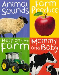 Farm: My Mini Library Set of 4 (Mini Board Book)