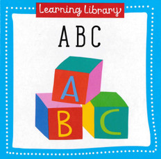 ABC: Learning Library 3.5 x 3.5 x .5 inches  (Chunky Board Book)
