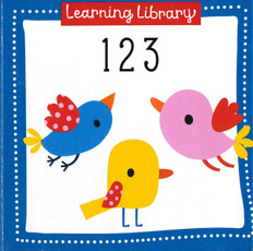 123: Learning Library 3.5 x 3.5 x .5 inches (Chunky Board Book)