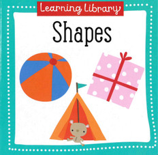 Shapes: Learning Library 3.5 x 3.5 x .5 inches  (Chunky Board Book)