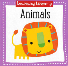 Animals: Learning Library 3.5 x 3.5 x .5 inches (Chunky Board Book)