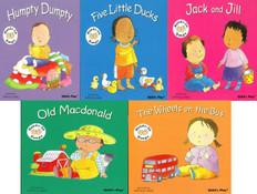 Nursery Rhyme Classics: Hands-On Songs (BSB)- 25 Books