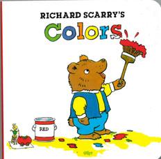 Richard Scarry's Colors (Mini Board Book) 3.5 x 3.5 x .4 inches