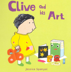 Clive and His Art (Board Book)