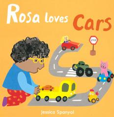 Rosa Loves Cars (Board Book)