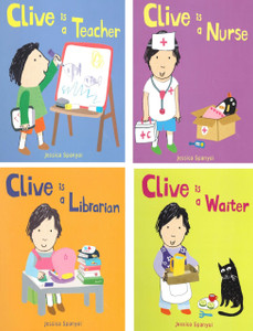 What Will Clive Be Today? Set of 4 (Board Book)