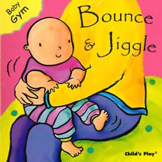 Bounce & Jiggle: Baby Gym (Board Book)