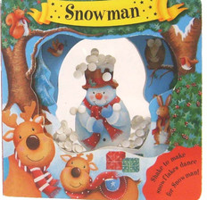 Snowman: Snow Shakers (Board Book)