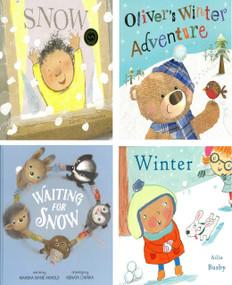 Winter Reading Favorite Set of 4
