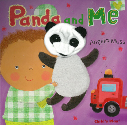 panda and me puppet pals puppet board book books by the bushel