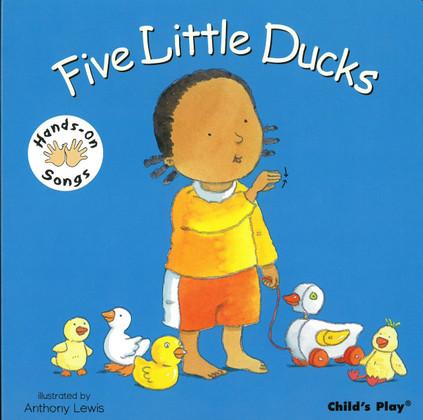 Five Little Ducks: Hands-On Songs (Board Book)