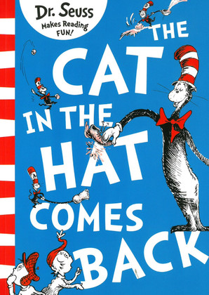 the cat in the hat comes back dr seuss paperback