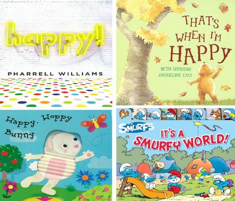 HAPPY!: Set of 4 (Board Book)