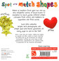 Spot and Match Shapes (Board Book)