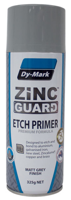 Zinc Guard Etch Primer Grey 325g