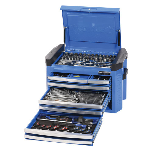 Contour Tool Kit 207pce 8 Drawer Blue