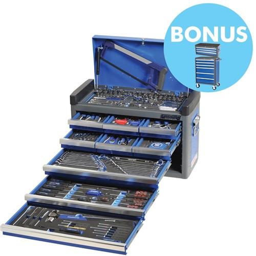 Evolve Chest Kit 182pce 9 Drawer Blue