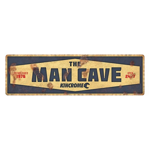Kincrome Man Cave Sign