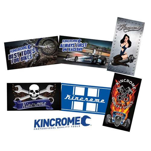 Kincrome Sticker Pack 6pce