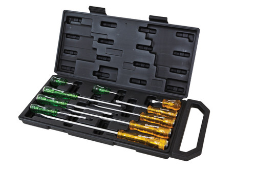 Screwdriver Tang Thru Handles 10pce Set