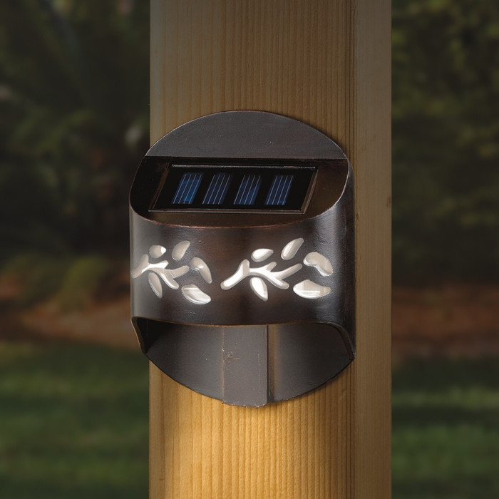 Leaf Solar Post Light