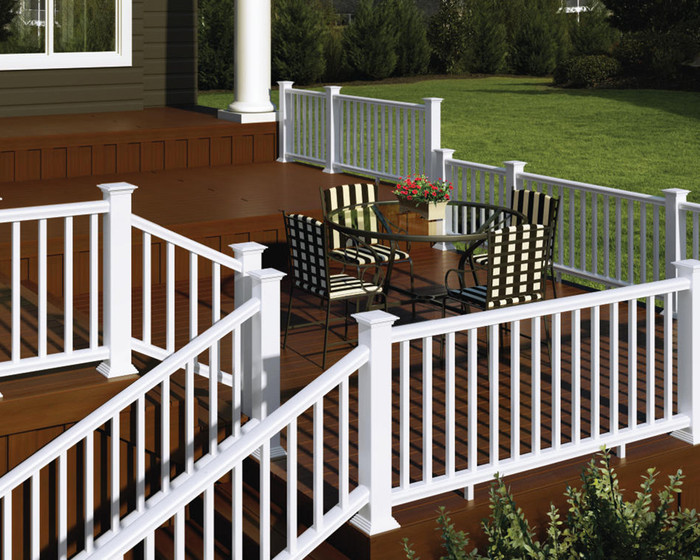 Composite Railing Kit | CXT Colonial Pro by Deckorators