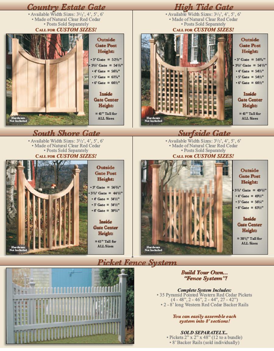 Cedar Gates