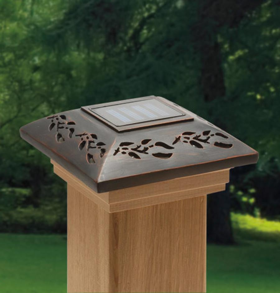 Leaf Solar Post Cap