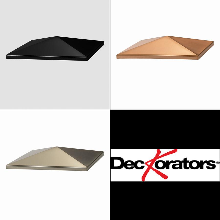 CXT Style Point Post Cap Tops by Deckorators