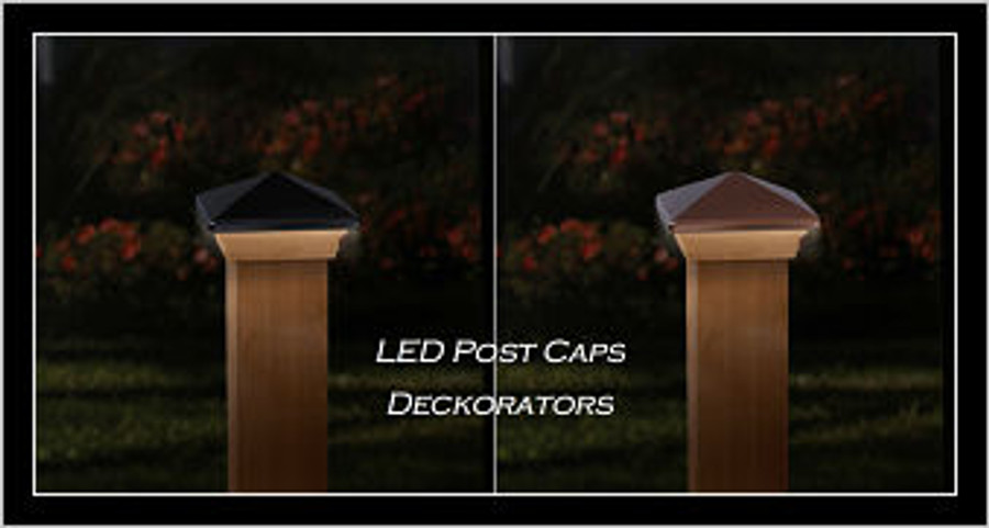 Deckorators LED Wood Post Caps