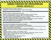 Safety Sign: Press Brake (Hydraulic) - Safety Guidelines (Spanish)
