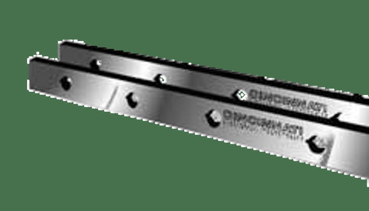 "Cincinnati Shear Knives - 124"" Length, 4"" x 1"" Cross Section (239031) Type A"