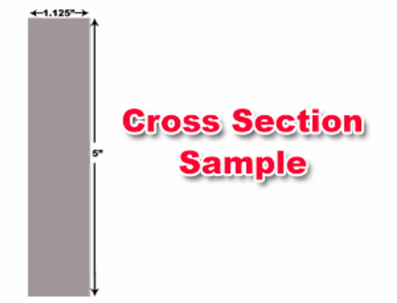 "American Hercules Shear Knives - 148"" Length, 5"" x 1.125"" Cross Section (239246) Type C"