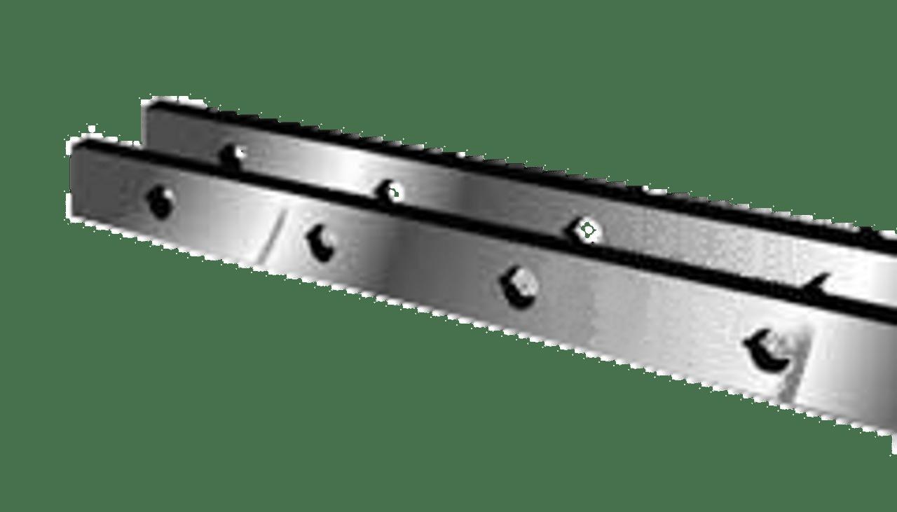 "Betenbender Shear Knives - 124"" Length, 4"" x 1"" Cross Section (239216) Type C"