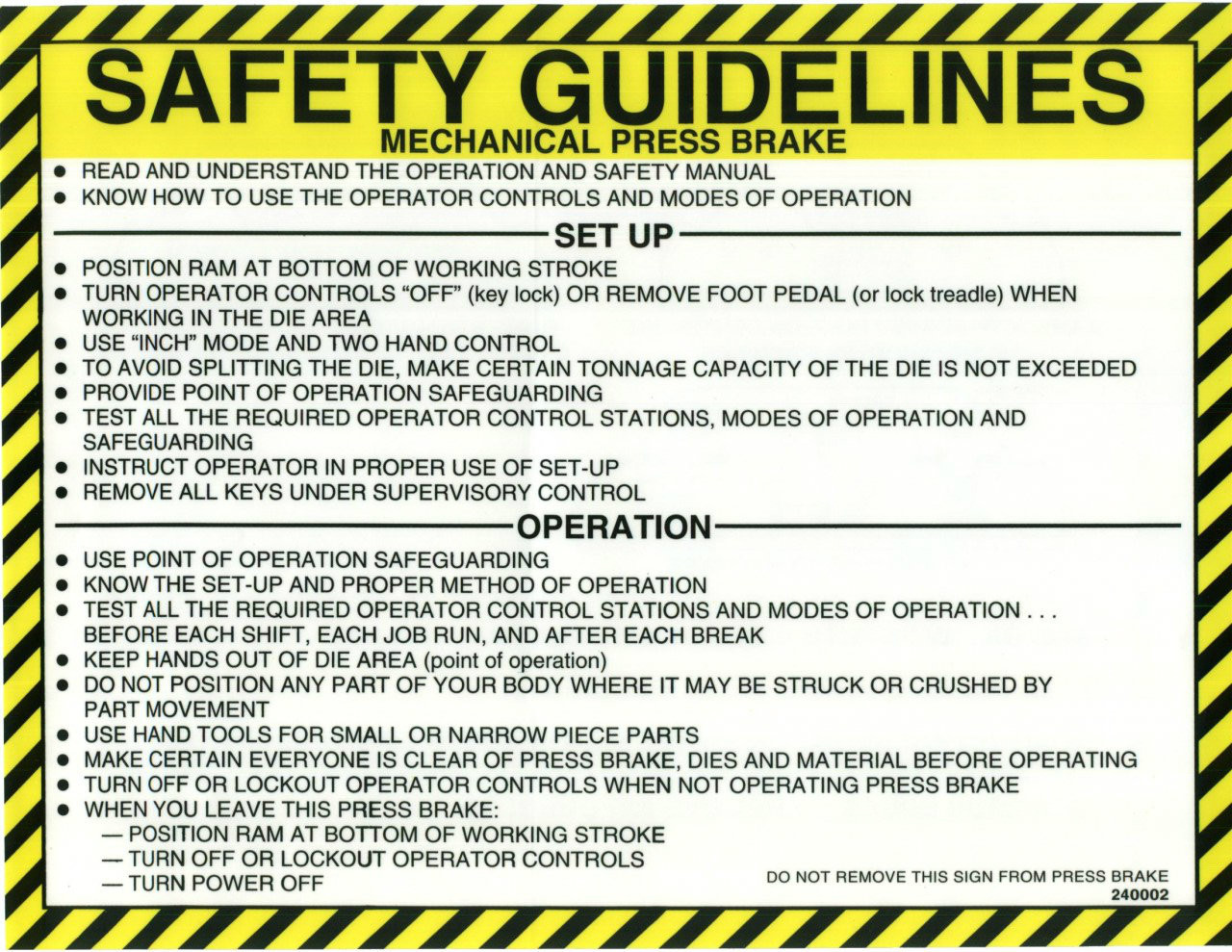 240002 Safety Guidelines (English)
