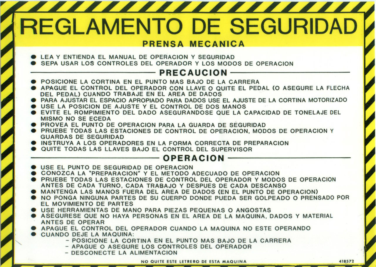 418572 Safety Guidelines (Spanish)