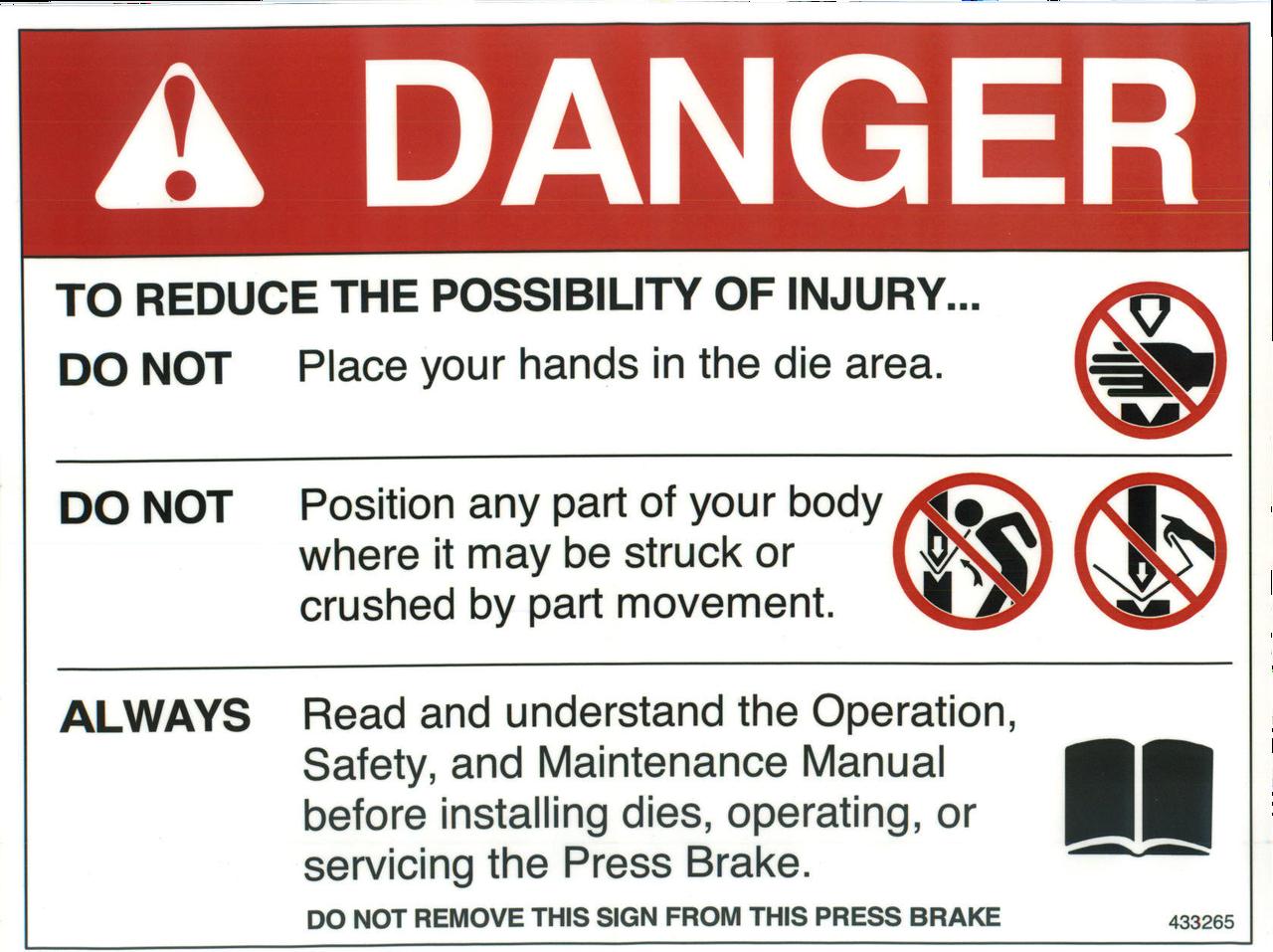 Danger 433265
