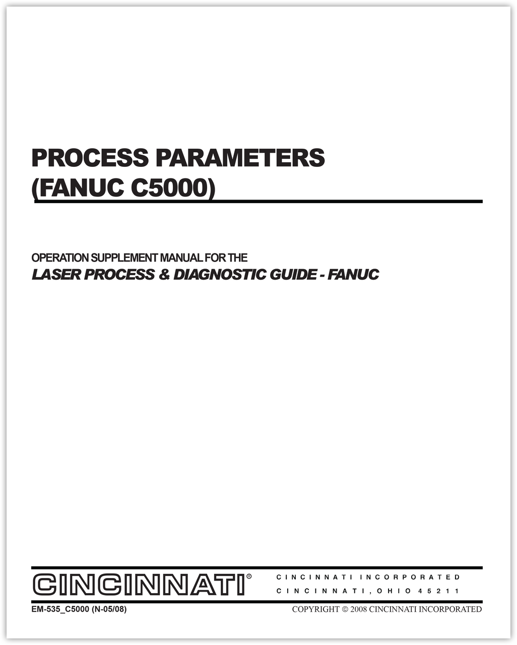 Fanuc 21m Parameter manual