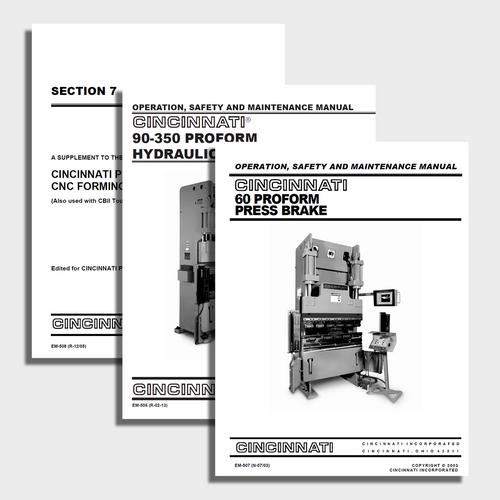 Proform CNC Press Brake Manual Bundle