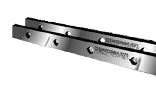 "Cincinnati Shear Knives - 126"" Length, 3"" x 1"" Cross Section (239110) Type B"