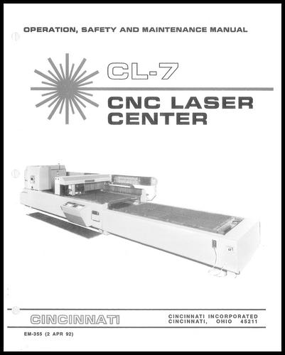 EM-355 (N-4-92) CL-7 CNC Laser Center OSMM