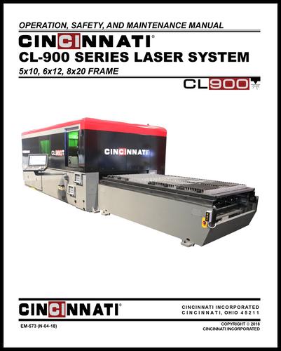 EM-573 (N-04-18) CL-900 Series Laser System_OSMM